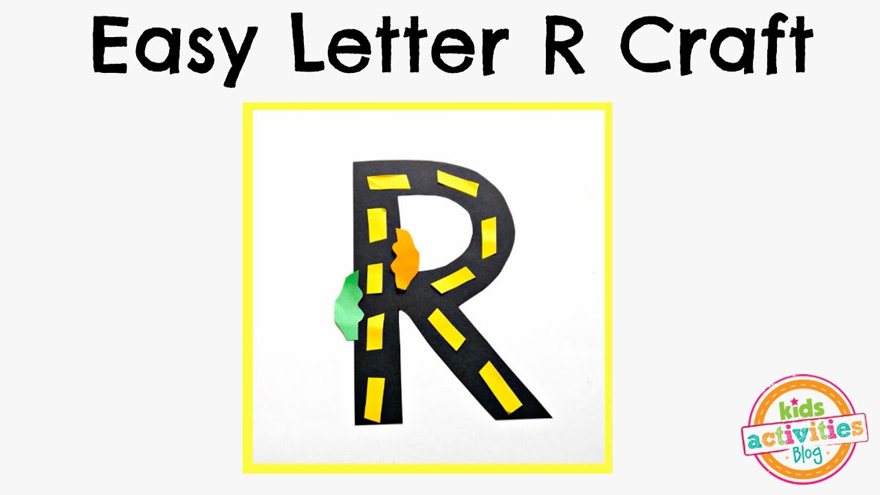 Letter r craft