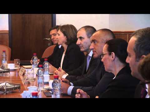 PM Netanyahu meets with Bulgarian Prime Minister Borissov