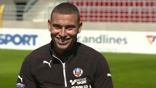 Jordan Larsson i öppenhjärtig intervju - TV4 Sport