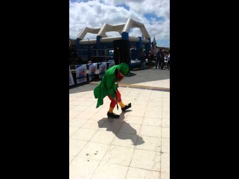 Paddy the leprechaun st patricks day lanzarote 201