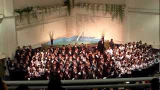 Gloria cantemos - Coro - Colegio Bautista Fundamental Monte Sion