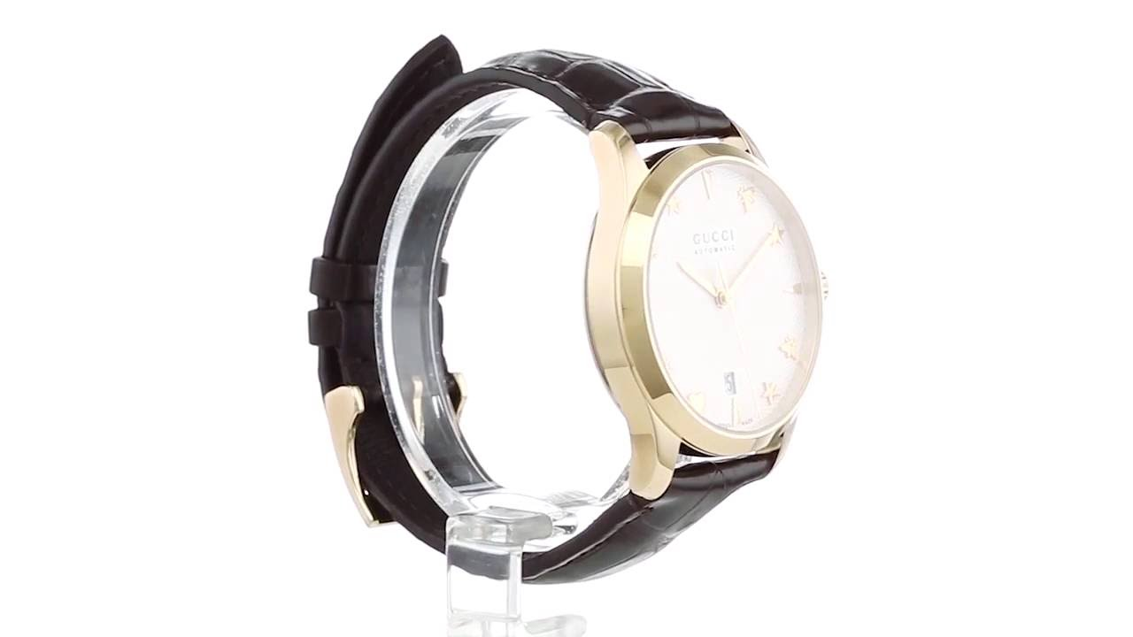 183c65341d0 Gucci - G-Timeless 38mm Automatic - YA126470 SKU 8800110 - YouTube