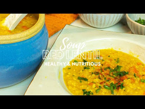 Red Lentil Soup with Hemp Seeds