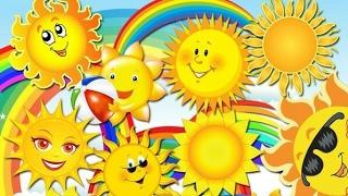 Детские песни Солнышко Развивающий мультик для детей Children's songs