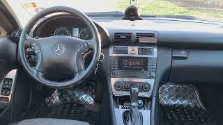 W203 C 220 CDI coole Features im Innenraum