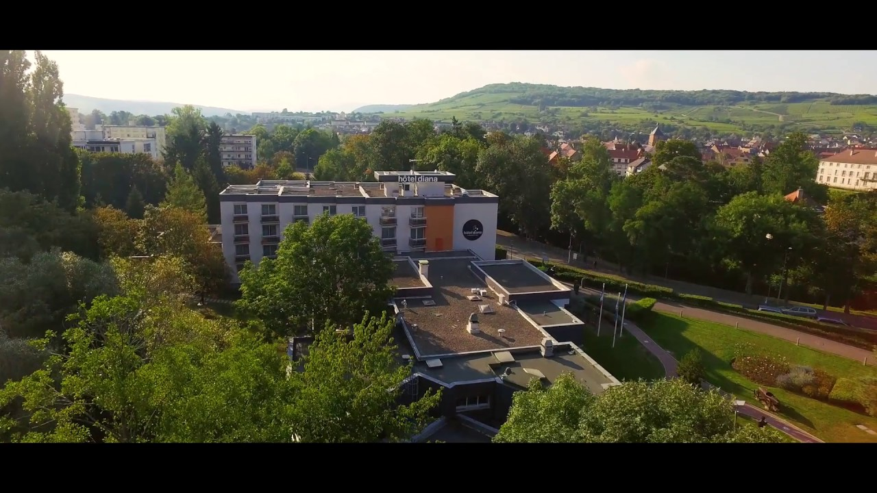 Hotel Diana Molsheim Restaurant Spa Le Film Youtube