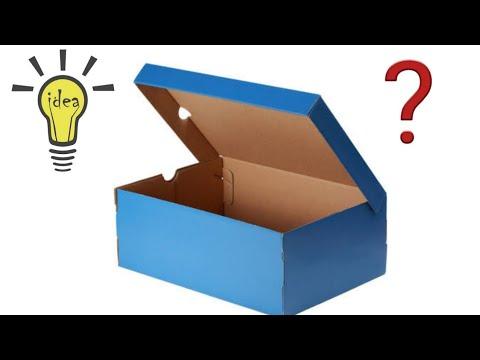 Increíble Idea Con Caja De Zapatos Ideias Com Caixas De Papelão Youtube