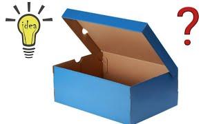 Increíble  Idea Con Caja De Zapatos | ideias com caixas de papelão |