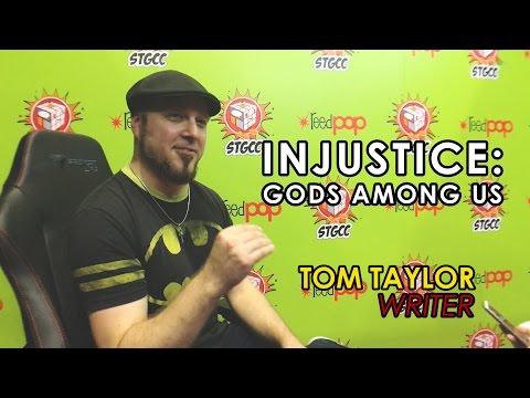 Tom Taylor - Injustice Comic  | STGCC 2016 | Ohai News