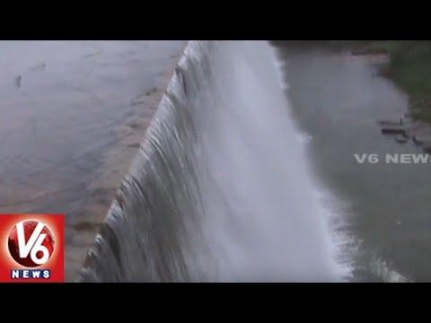 Pocharam Dam Water Level Increased With Heavy Inflow | Nizamabad | V6 News