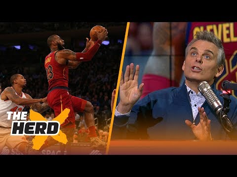 LeBron is the MacGyver of the NBA, meanwhile Westbrook's Thunder struggle   THE HERD