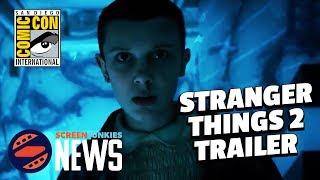 Stranger Things  Season 2 Comic Con Trailer Breakdown w/ Chris Stuckmann! - SDCC 2017
