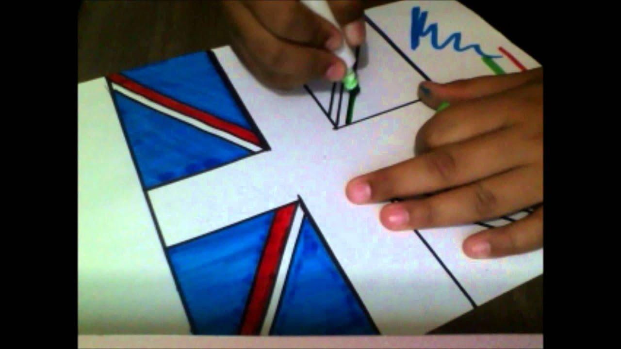 Como Hacer la bandera de One Direction - YouTube