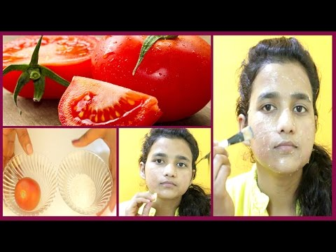 टमाटर से करे फैशियल - How to Do Facial At Home With Tomato To Get Instant Glowing,Fair,Flawless Skin