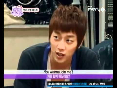 B2ST Idol Maid Cut Doojoon speaking English
