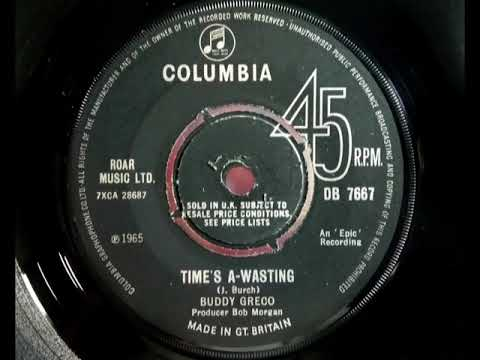 Mod Beat - BUDDY GRECO - Time's A Wasting - COLUMBIA DB 7667 UK 1965 Dancer