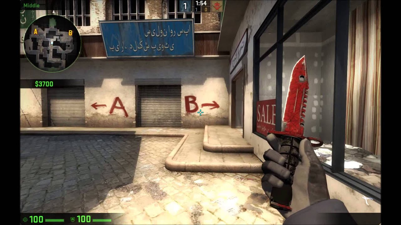 cs go m9 bayonet crimson web field tested youtube. Black Bedroom Furniture Sets. Home Design Ideas