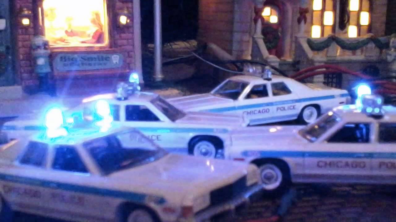 Chicago Police Dodge Monaco Blue Lights Youtube