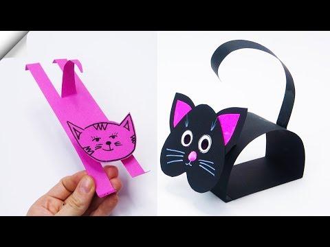 9 DIY Paper CAT | Paper crafts for kids Paper TOYS