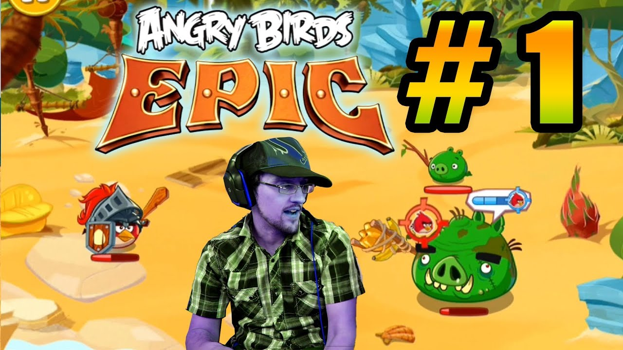 Lets Play Angry Birds ...