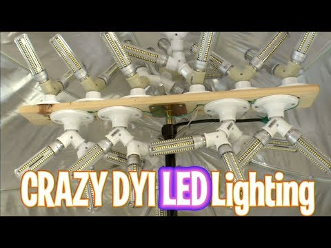 Crazy LED DIY lights for photography soft lighting