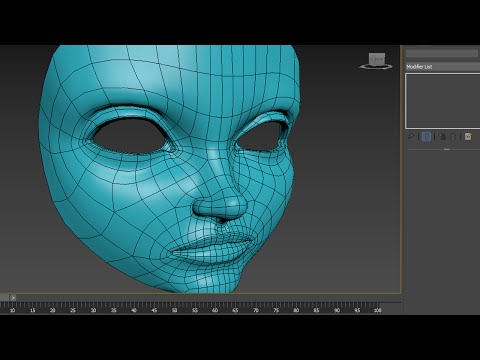 3DsMax: Lzzy (poly by poly) Part 1
