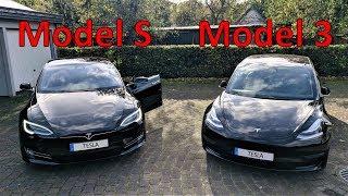 Neues Model 3 oder gebrauchtes Model S? Größe, Infotainment und Luxus im Vergleich - Teil 1