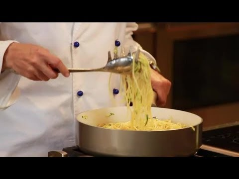 How to Make Vegetarian Carbonara : Italian Eating