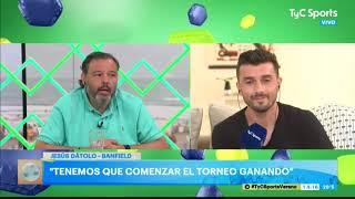 Jesús Dátolo, auténtico: el recuerdo de Garrafa Sánchez, su relación con Falcioni y su rol de líder