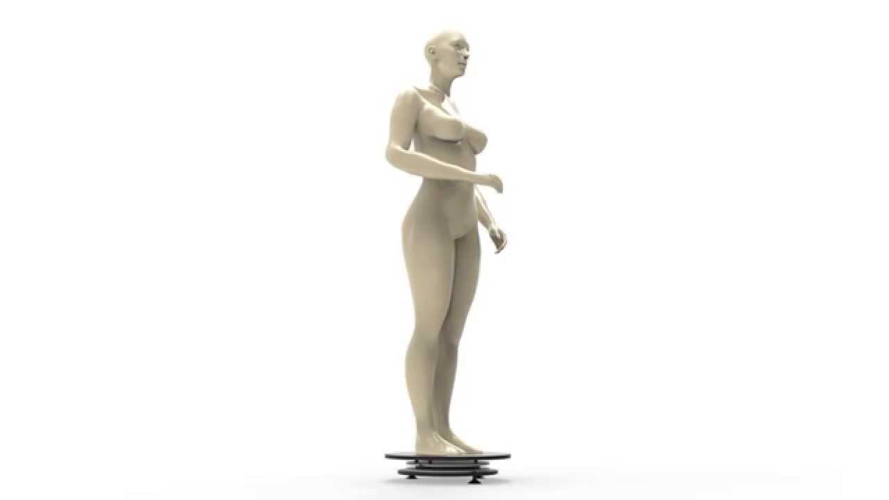 pr sentoir tournant motoris pour mannequin vitrine commerce youtube. Black Bedroom Furniture Sets. Home Design Ideas