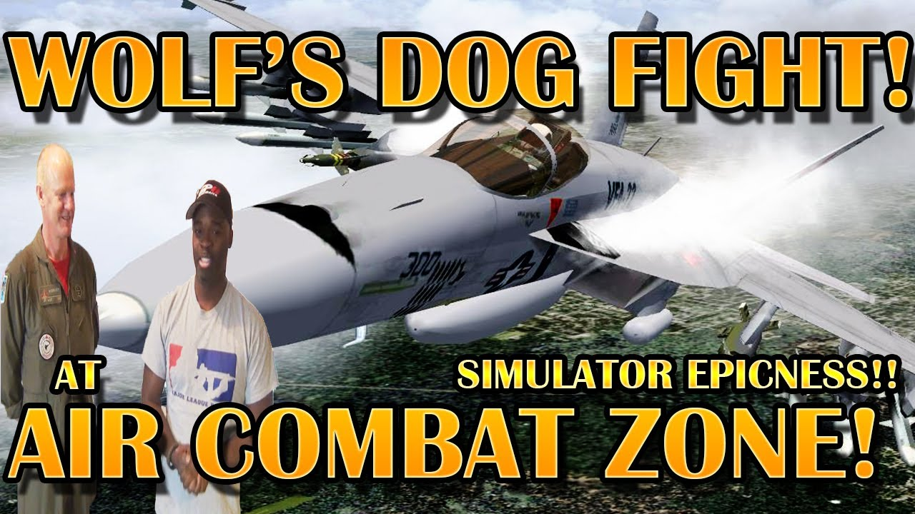 WOLF's Flight Simulator Experience!