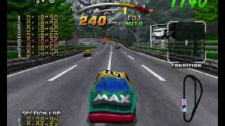 "Daytona USA Deluxe - Three-Seven Speedway ""Max"" car ultimate shortcut"