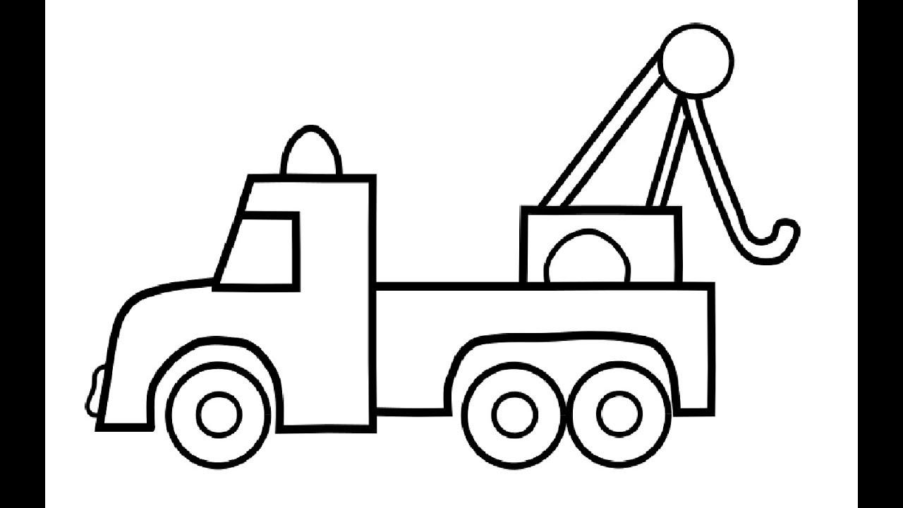 auto lkw malvorlagen für kinder  auto zeichnen und