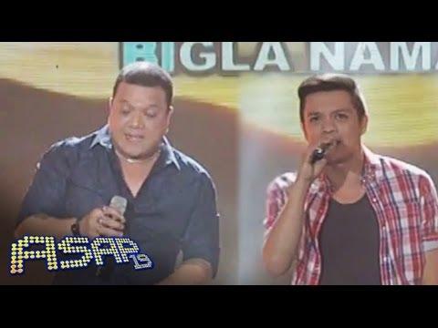 Bamboo and Mitoy sing Kisap Mata