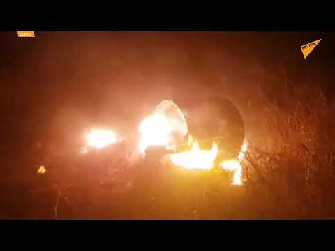 Video Muestra Escombros De Un Sistema De Defensa Sirio Tras Ataque Aéreo De Israel
