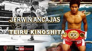Jerwin Ancajas vs Teiru Kinoshita | BRUTAL KNOCKOUT!