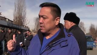 Б. Осмонов көчөсүн тазалоодо чыр чыкты