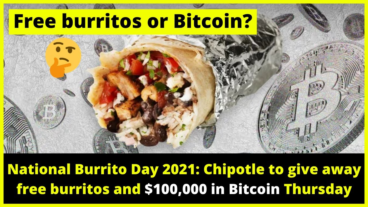 Chipotle giving away $100000 in free burritos and $100000 in ...