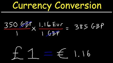 Currency Exchange Rates - How To Convert Currency