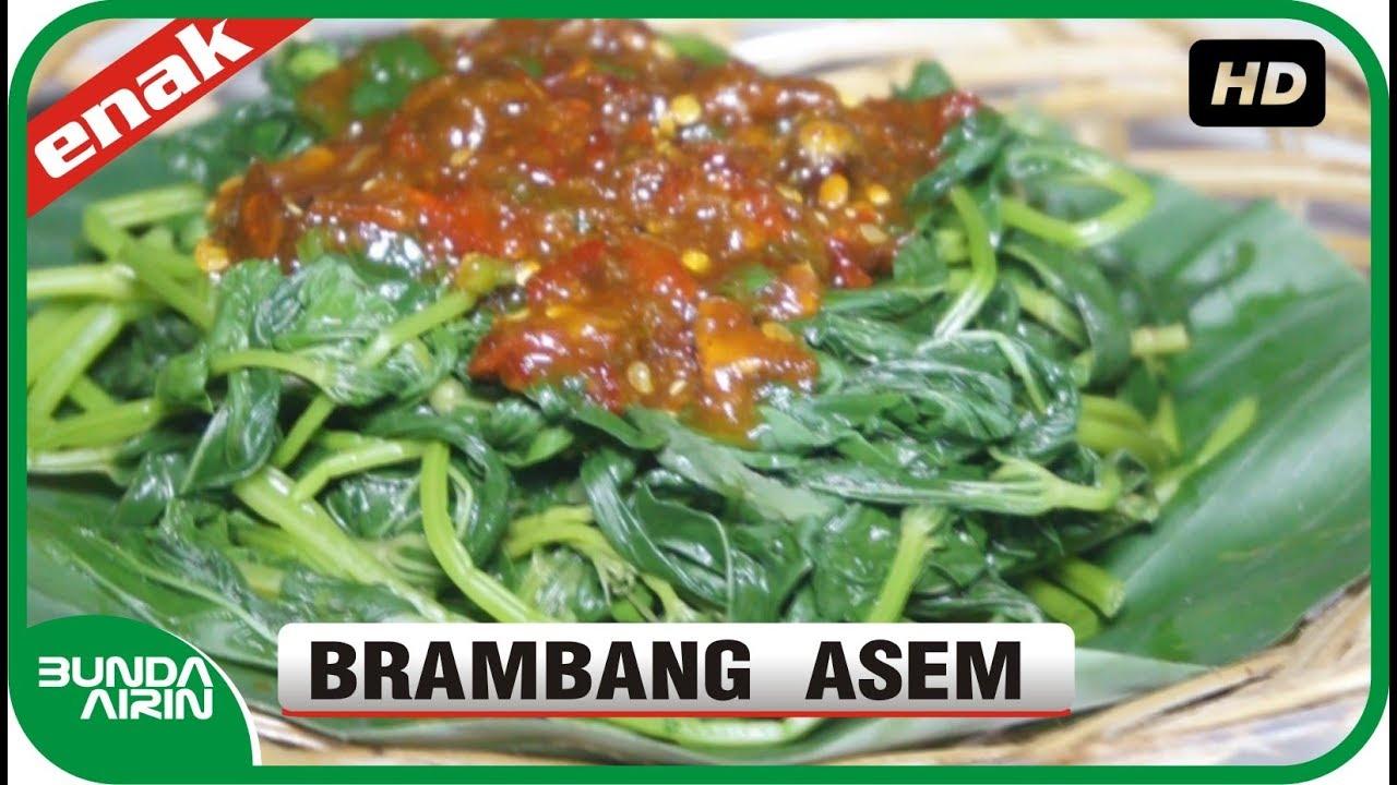 Brambang Asem Daun Ketela Rambat Resep Masakan Tradisional Jawa Ndeso Bunda Airin Youtube