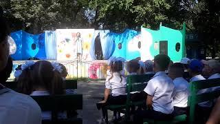 Любимая песня из детства. Очень красиво поет. День знаний. Бесплатный праздник для первоклашек.Тутси