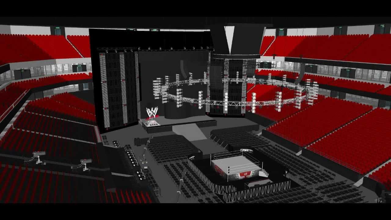 wwe weekly hd and royal rumble 2013 concept stages youtube