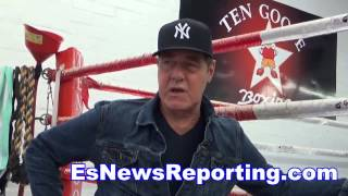 floyd mayweather vs manny pacquiao what hall of fame trainer joe goossen saw EsNews
