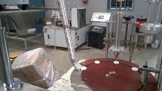 Wad inserting machine , cap slitting machines, cap wadding machine