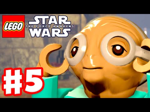LEGO Star Wars The Force Awakens - Gameplay Part 5 - Chapter 5: Maz's Castle