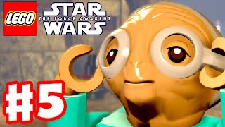 LEGO Star Wars The Force Awakens - Gameplay Part 5 - Chapter 5: Maz's Castle(LEGO Star Wars The Force Awakens Video Game Gameplay Part 4! Chapter 5: Maz's Castle! PART 1 ▻ http://zack.watch/LEGOForceAwakens PLAYLIST ..., 2016-07-02T21:06:18.000Z)