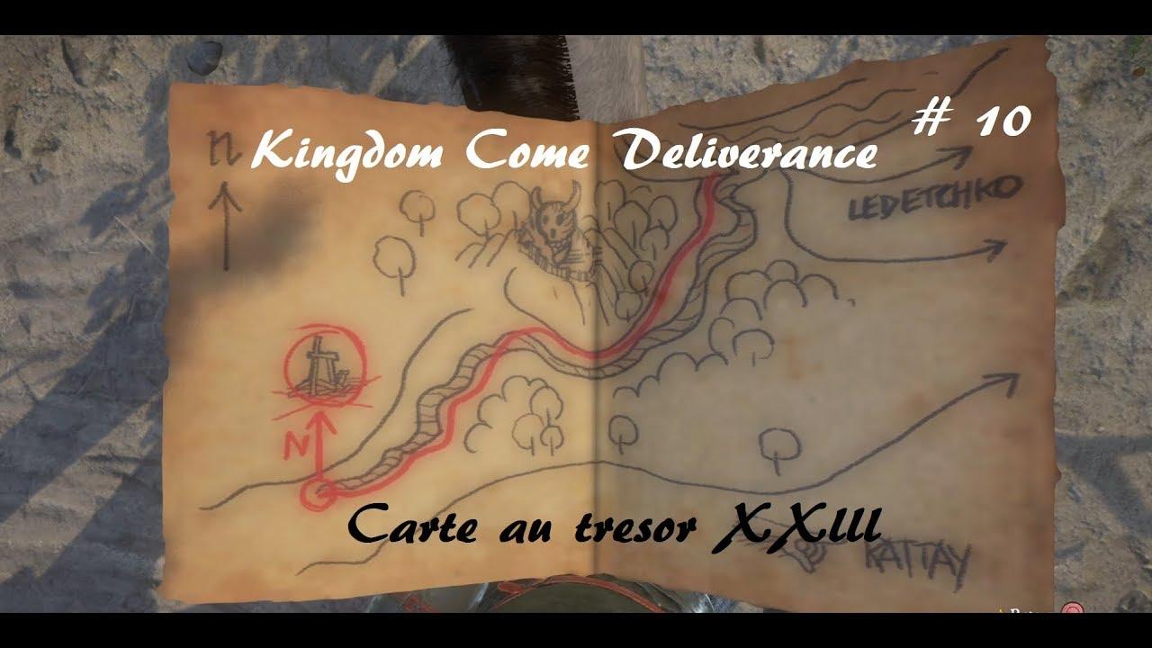 Carte Au Tresor Kingdom Come.Kingdom Come Deliverance Carte Au Tresor Xxiii