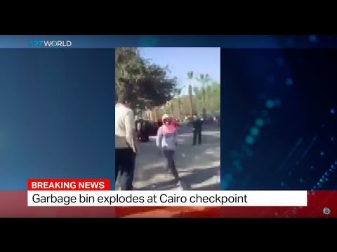 Egypt Explosion: Garbage bin explodes at Cairo checkpoint