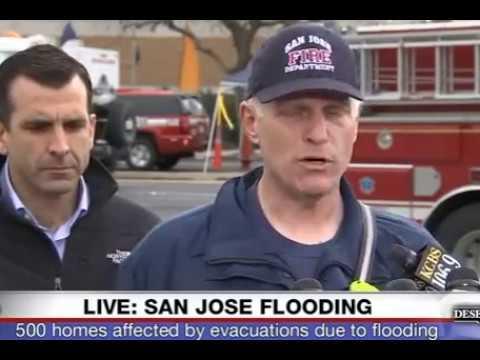 BREAKING: San Jose FLOODING - Mandatory Evacuation