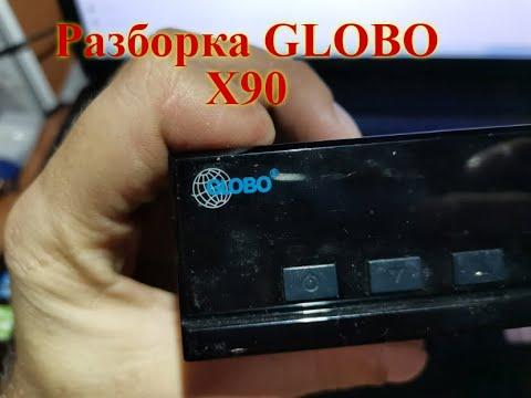 Тюнер (ресивер) спутникового Телевидения GLOBO X90 (разбор)